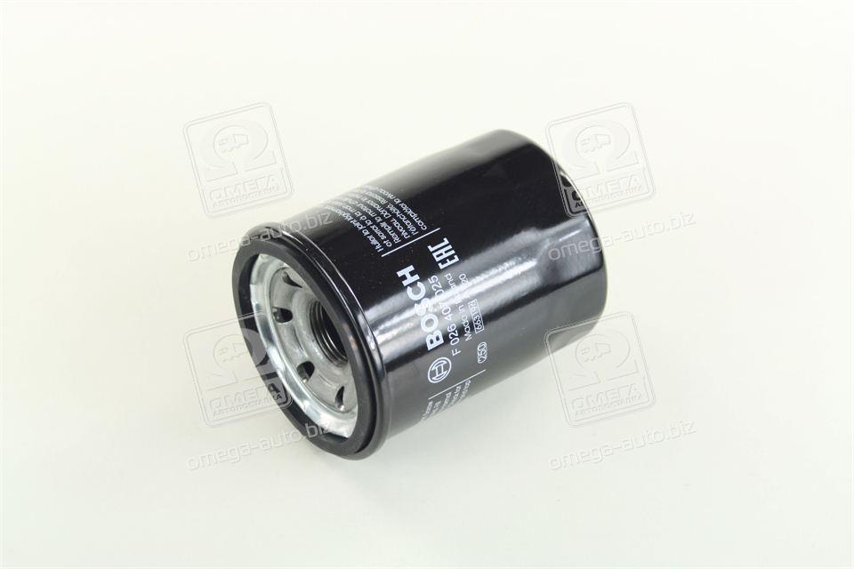 Фильтр масляный MAZDA, МИТСУБИШИ (производство  Bosch) ХЮНДАЙ, AТОС, AТОС   ПРАЙМ, и10, и20, F026407025
