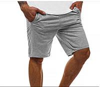 Шорты мужские трикотажные серые | ТОП качества