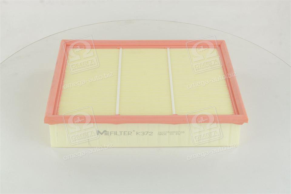 Фильтр воздушный МЕРСЕДЕС C180, 200D, 220D, 250D, 280 (W202), CLK 200, 230, 320, 430 (производство  M-filter) МЕРСЕДЕС, М-КЛAСС, K372
