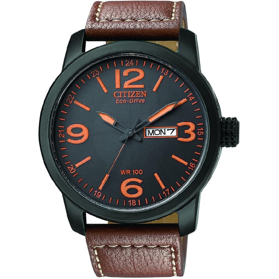 Мужские часы Citizen BM8475-26E E-D Military Black