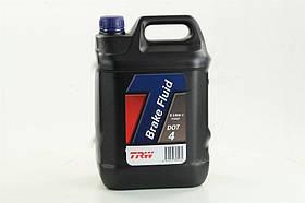 Жидкость тормозная DOT4 5, 0L (производство  TRW)  PFB405
