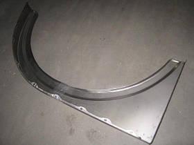 Крыло переднее левое МАЗ 5336 металлическое (не окрашеная) (производство  МАЗ)  5336-8403017