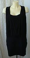 Платье женское элегантное стильное легкое мини бренд See U Soon р.46 3630, фото 1