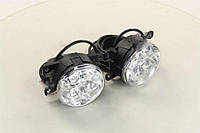 Фары DRL LED кпл. лев.+пра. 12/24V 2*3W (производство  Magneti-Marelli)  LAQ010