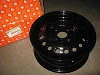 Диск колесный 13Н2х5, 0J ВАЗ 2108, 2109, 21099, 2113, 2114, 2115 черный (в упак.) (Дорожная Карта)  2108-3101015-02