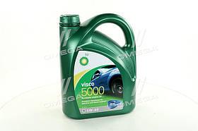 Масло моторное BP Visco 5000 5W-40 API SN/CF (Канистра 4л)  15806C