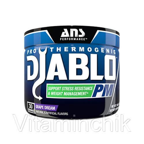 ANS Performance жиросжигающий комплекс Diablo PM Stress Control виноградная мечта 150 гр