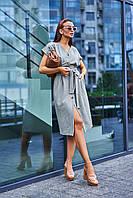 Летнее платье цвет: хаки, размер: S, M, L, XL