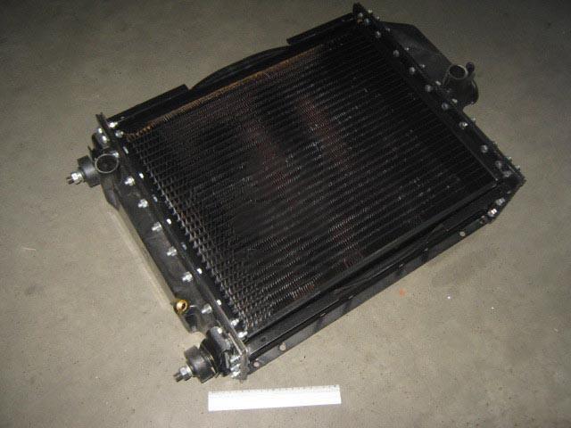 Радиатор водяного охлаждения МТЗ, Т 70 с двигатель Д 240, 243 (4-х рядный ) (производство  г.Бишкек)  70П.1301.010