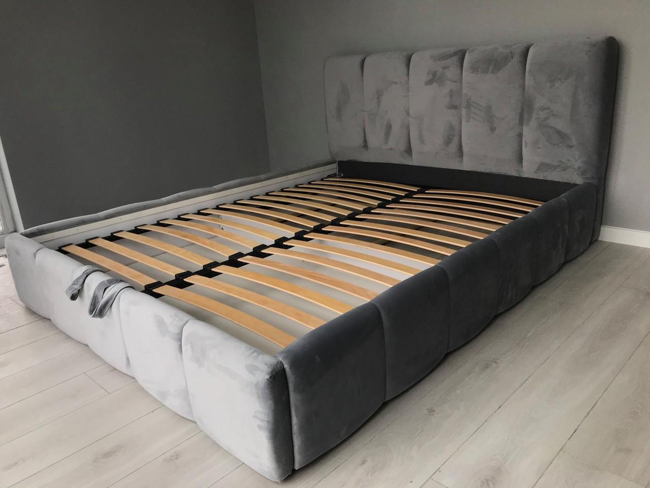 М'яке ліжко двоспальне Брідж з підйомним механізмом 160х200