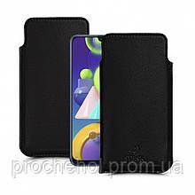 Футляр Stenk Elegance для Samsung Galaxy M21 Чёрный