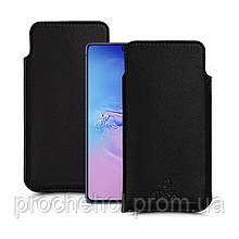 Футляр Stenk Elegance для Samsung Galaxy S10 Lite Чёрный