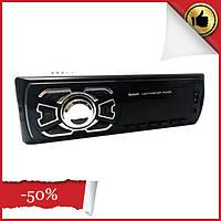Автомагнитола MP3 1 Din с usb и bluetooth 1408BT + пульт, бюджетная магнитола в машину с флешкой, FM приемник
