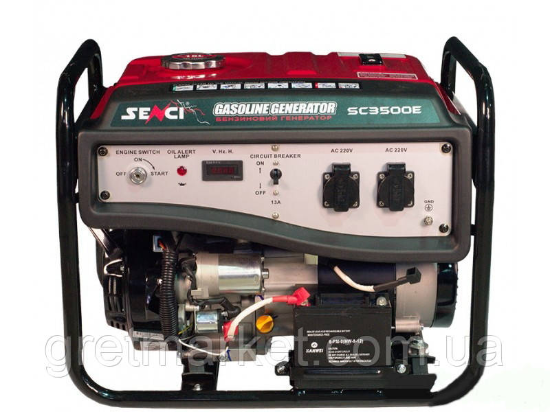 Бензиновый генератор SENCI SC 3500E