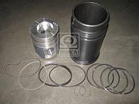 Гильзо-комплект ЯМЗ 240ПМ2 (гильза(фосф), поршень(траф.)+ комплект поршневых колец )(без пальца) группа Б(МОТОРДЕТАЛЬ  240П-1004005-В
