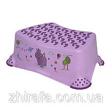 Ступенька в ванную Lorelli Фиолетовый