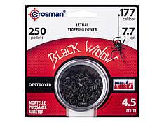 Пули для пневматического оружия Crosman Black Widow, 0.50 гр, 250 шт