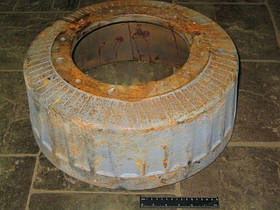 Барабан тормозной МАЗ полуприцепа (производство  Беларусь)  9397-3502070