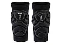 Наколенники налокотник Knee для занятий спортом защитные противоскользящие L Черный
