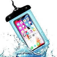 Водонепроницаемый чехол / кейс для телефона универсальный Alitek Water Blue