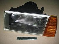 Фара левая оранжевый указатель черный корпус ВАЗ 2108, 2109, 21099 (производство  Формула света)  081.3711-01
