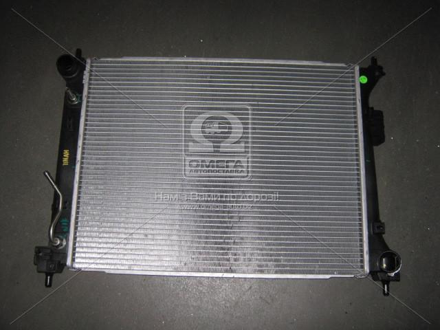 Радиатор охлаждения двигателя Hyundai I20 08- (пр-во Mobis)  253101J050