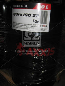 Масло гидравлическое AXXIS Hydro ISO 32 (Канистра 60л)  48021043921