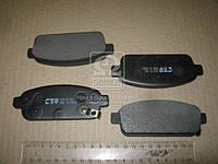 Колодки тормозные ШЕВРОЛЕТ CRUZE, ORLANDO передние /задние (производство  CTR)  CKKD-22