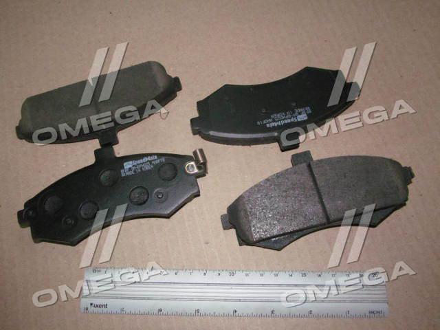 Колодки тормозные дисковые ХЮНДАЙ LAVITA КИA CERATO (производство  SPEEDMATE, Korea)  SM-BPH025