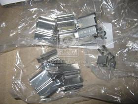 Монтажный комплект тормозных колодок (производство  ERT)  420098