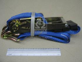 Стяжка груза, 50mm.x2.7m.(0.2+2.5) металлическая ручка (автовозн.) <Wistra>  WTA3250-006 2, 7m
