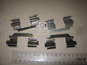Монтажный комплект тормозных колодок (производство  ERT)  420141