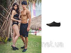 Качественная обувь для пляжа, бассейна 38  Черный