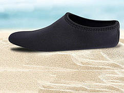 Качественная обувь для пляжа, бассейна 39  Черный