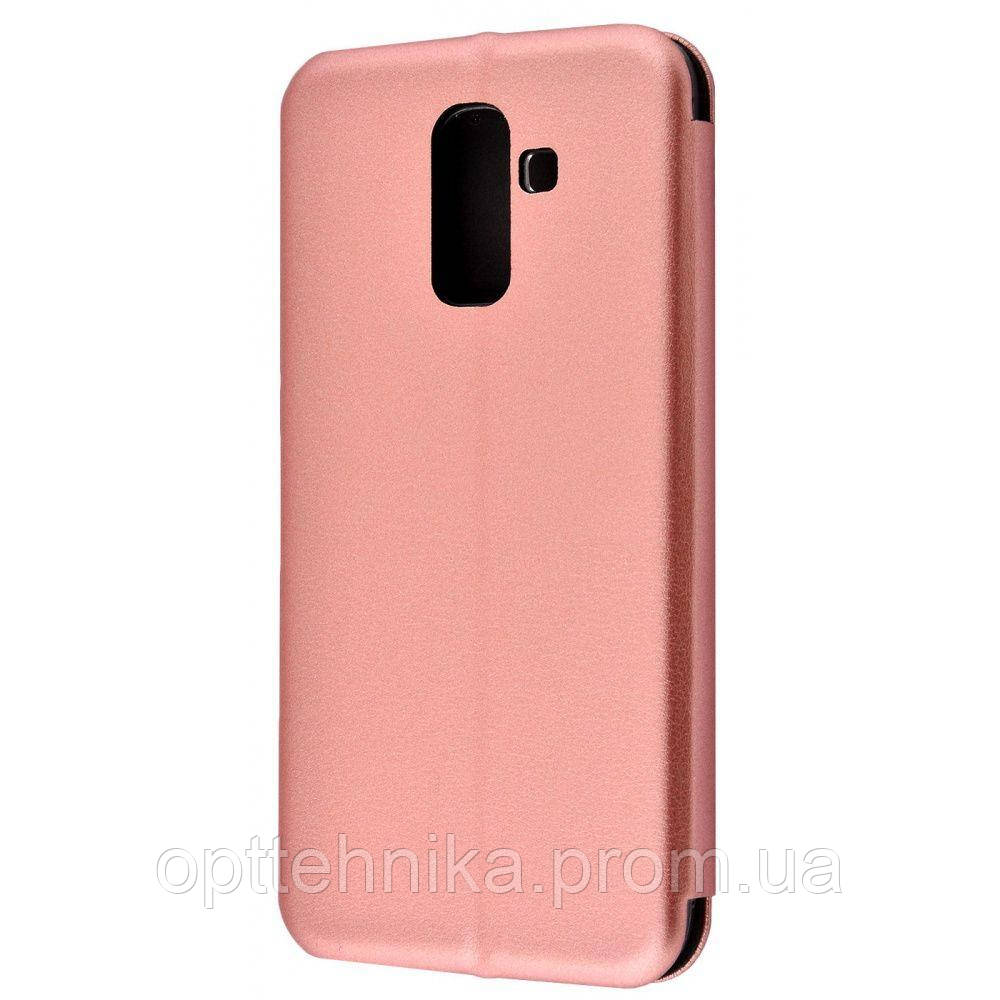 Flip Magnetic Case Samsung Galaxy J8 2018 (J810F) rose_gold