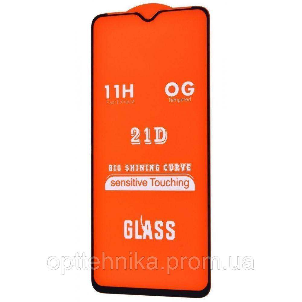 Защитное стекло colour Full Glue Samsung Galaxy A70 (A705F) без упаковки black