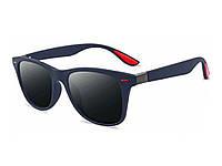 Стильные очки солнцезащитные UV400 красные  Красный