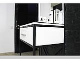 Столик для візажиста і перукаря з ящиком і підсвічуванням, фото 3