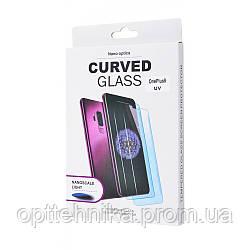 Защитное стекло Clear Full Glue + Lamp OnePlus 8