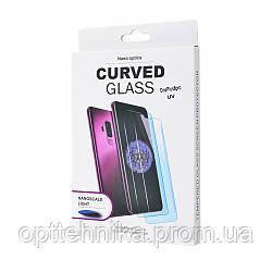 Защитное стекло Clear Full Glue + Lamp OnePlus 8 Pro