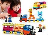 """Конструктор для малышей Smoneo """"Паровоз"""" Train, фото 2"""