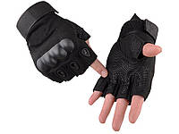 Тактические перчатки без пальцев для мужчин Oakley XL  Черный