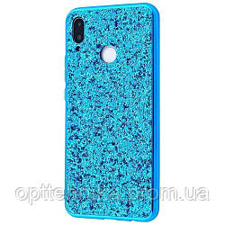 Shining Corners With Sparkles Samsung Galaxy J7/J7 Neo blue