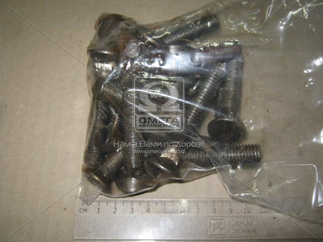 Болт М12x65х1, 75 потайной (1кг = 1 компл) DIN 608 ГОСТ 7786-08 (производство  Украина)  М12х65 ПКП