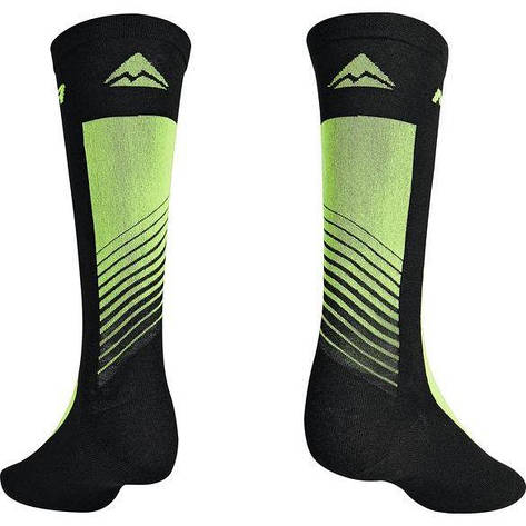 Шкарпетки Merida Socks Long M (26см 40-42) Black Green ROAD, фото 2