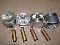 Поршень цилиндра ВАЗ 21083, 11113 d=82, 8 группа D Р2 Мотор Комплект (NanofriKS), поршневой палец (МД Кострома)  21083-1004015-БР