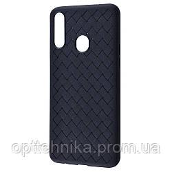 Weaving Case (TPU) Samsung Galaxy A20s (A207F) black