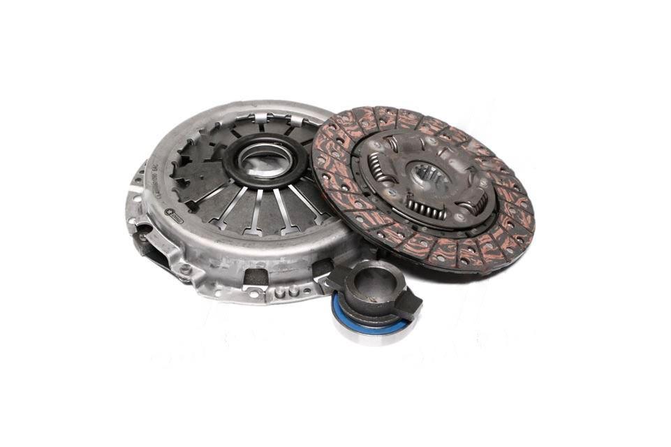 Сцепление (комплект ) (диск+корзина+выжимная муфта) ГАЗ двигатель 402, 405, 406, 409 универсное (производство  ТРИАЛ)  406-1601090