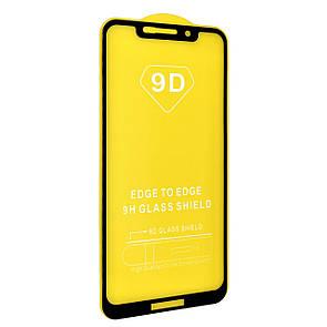 Защитное стекло DK Full Glue 9D для Motorola One (P30 Play) (black)
