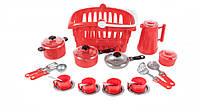 "Набор посуды ""Иришка"" 8 134OR (Red)"